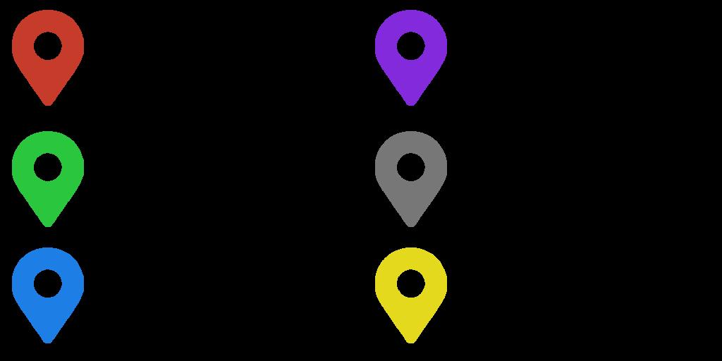 Legende für die Google Map